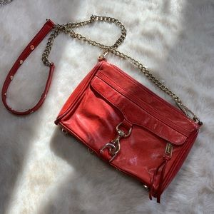 Beautiful red orange cross body